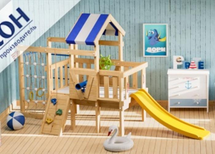 Детский игровой чердак Дори для дома и улицы