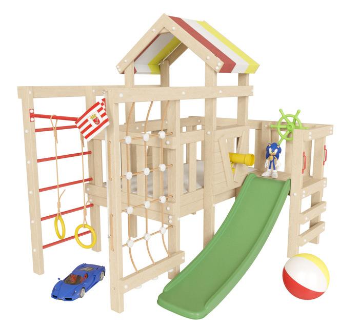 Детский игровой чердак Соник для дома и улицы