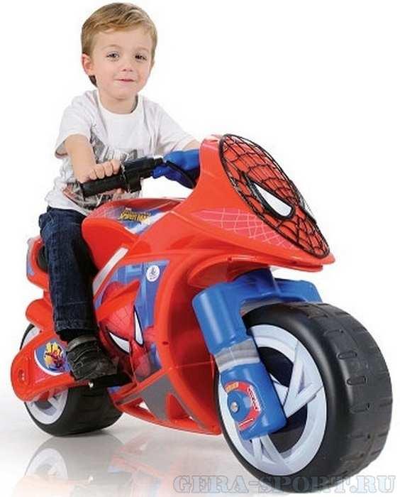 Детский электромотоцикл INJUSA Moto SPIDERMAN Sense 646