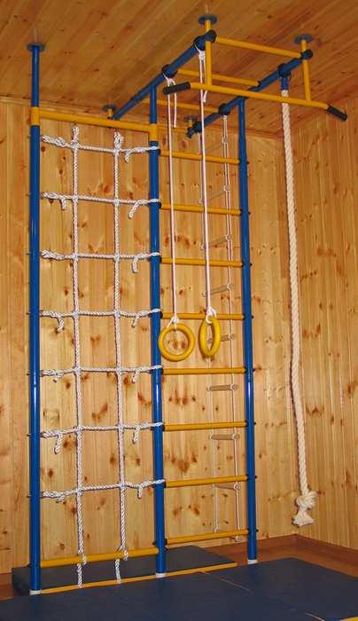 ДСК Городок Т-образный с сеткой детский спортивный комплекс