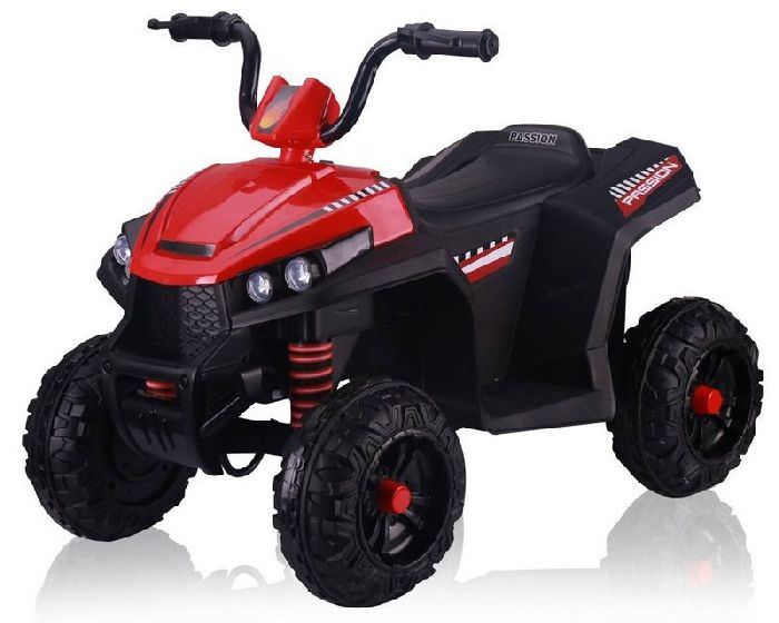 Квадроцикл детский T111TT с кожаным сиденьем, колеса резиновые