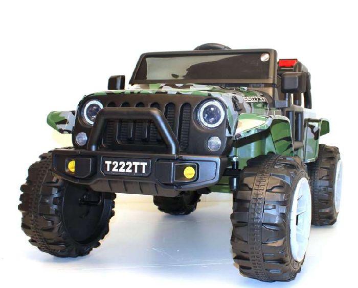 Детский электромобиль T222TT на резиновых колесах