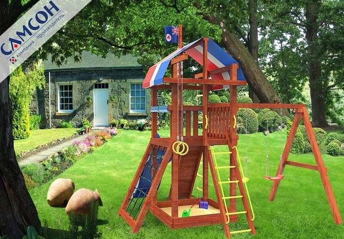 Детские игровые площадки Самсон Тасмания