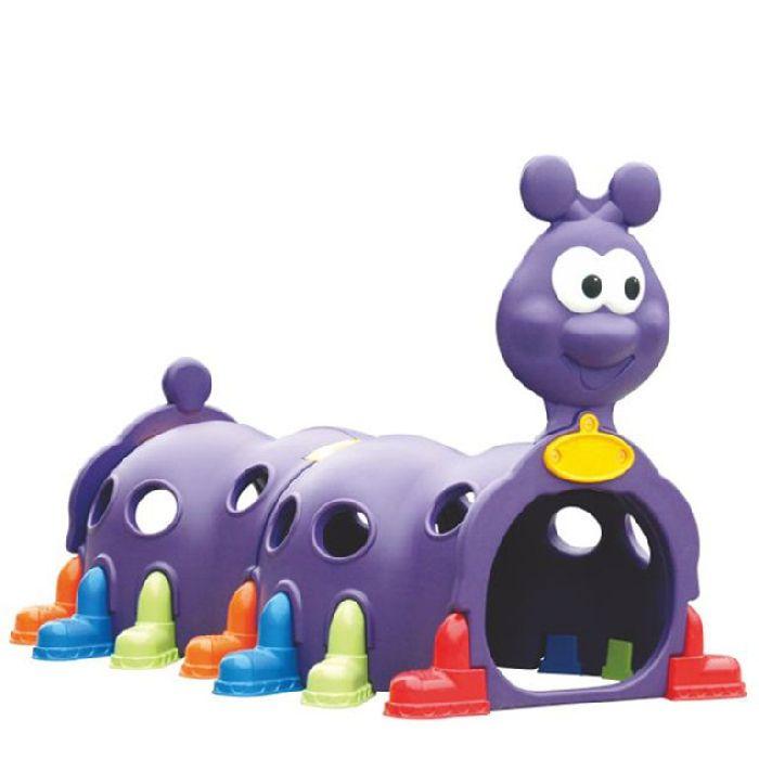Детский Тоннель Капризун Гусеница ZK007-2 фиолетовая