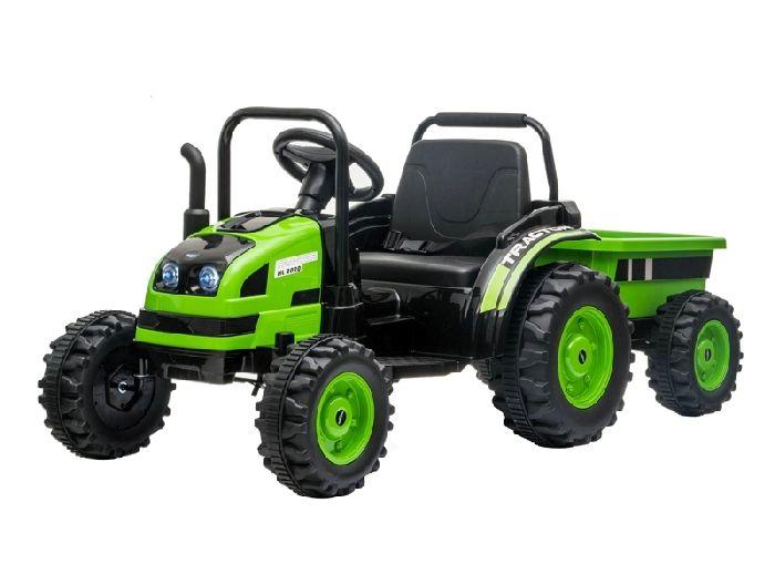 Детский электромобиль-трактор с прицепом Barty TR001
