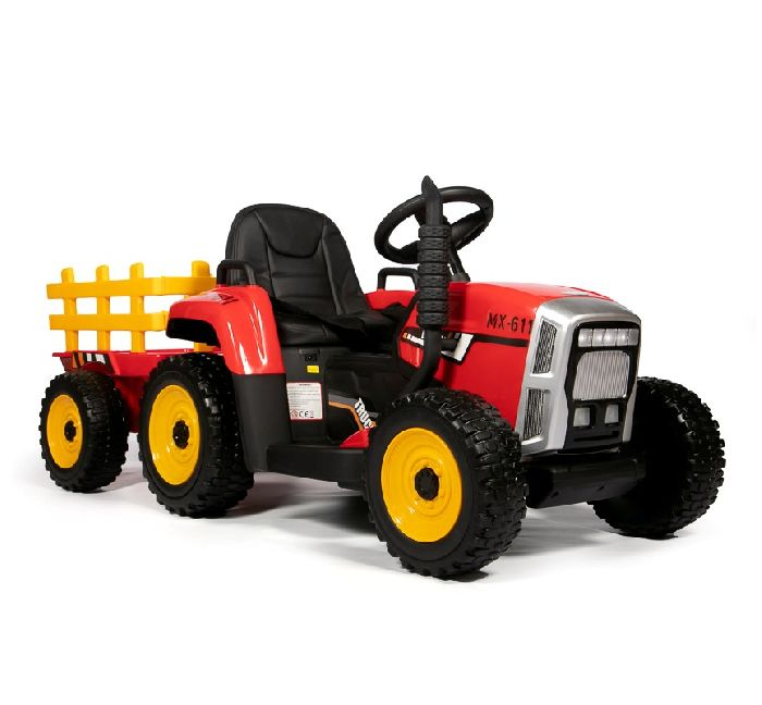 Детский электромобиль-трактор с прицепом Barty TR-77