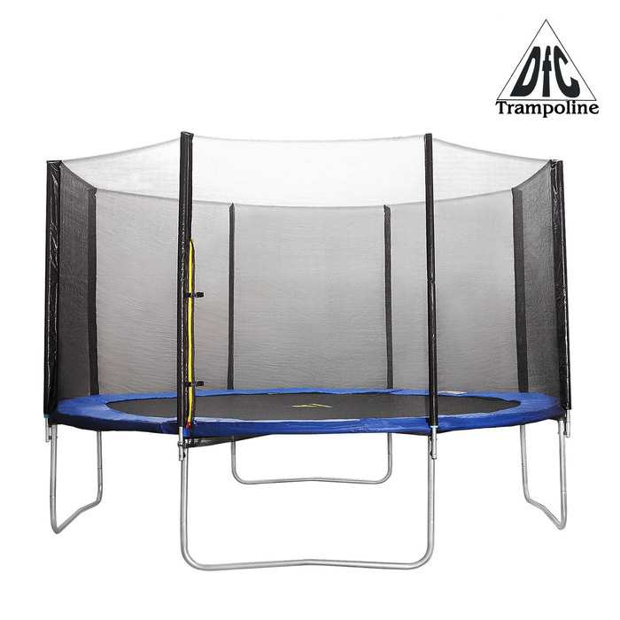 DFC батут Trampoline Fitness диаметр 10FT 305 см с защитной сеткой