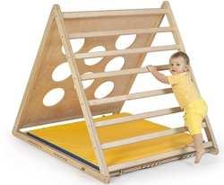 Детский спортивный уголок Kidwood домашний деревянный Треугольник