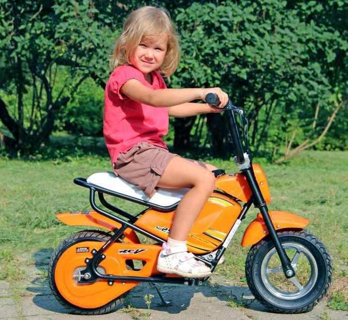 Детский скутер-мотоцикл TVL Mini