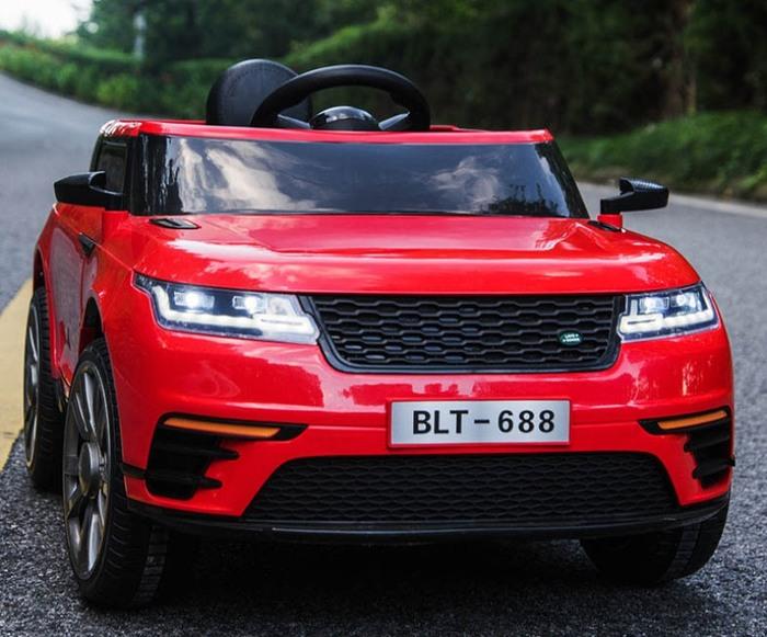 Детский электромобиль Range Rover Velar на резиновых колесах