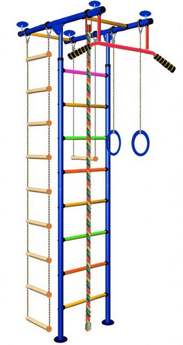 ДСК Вертикаль Юнга №2.1с детский спортивный комплекс
