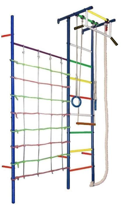 ДСК Вертикаль Юнга №4.1с спортивный комплекс для дома