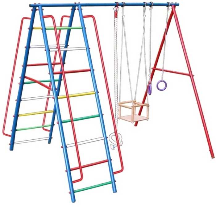 ДСК Вертикаль А1 дачный детский спортивный комплекс для улицы