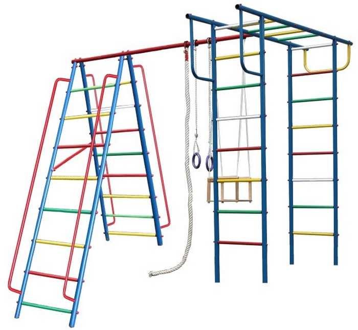 ДСК для дачи Вертикаль А1+П детский спортивный комплекс дачный