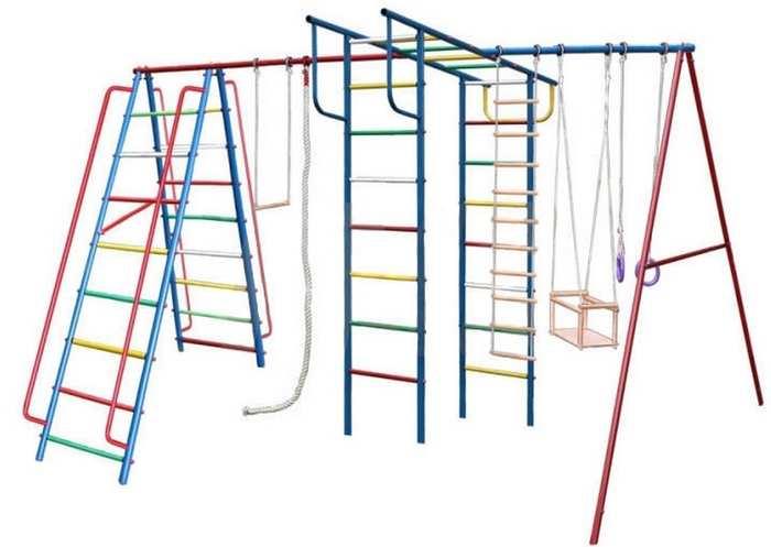 ДСК Вертикаль А1+П МАКСИ дачный детский спортивный комплекс для улицы