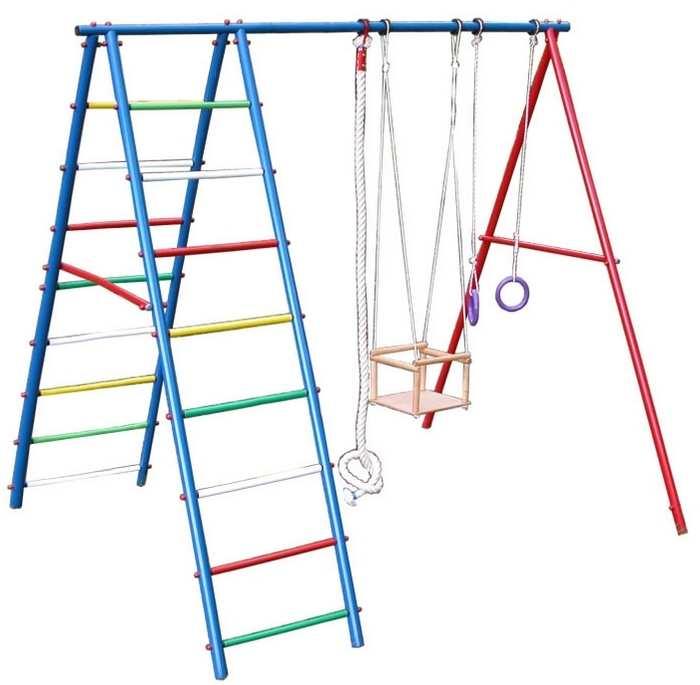ДСК Вертикаль А детский спортивный комплекс для дачи