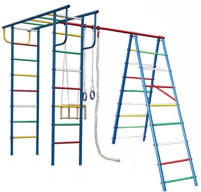 ДСК для дачи Вертикаль А+П детский спортивный комплекс для улицы