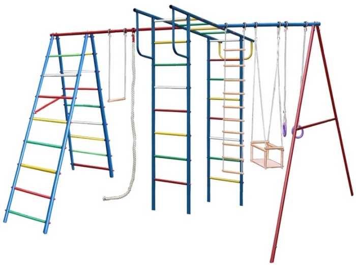 ДСК Вертикаль А+П МАКСИ дачный детский спортивный комплекс для улицы