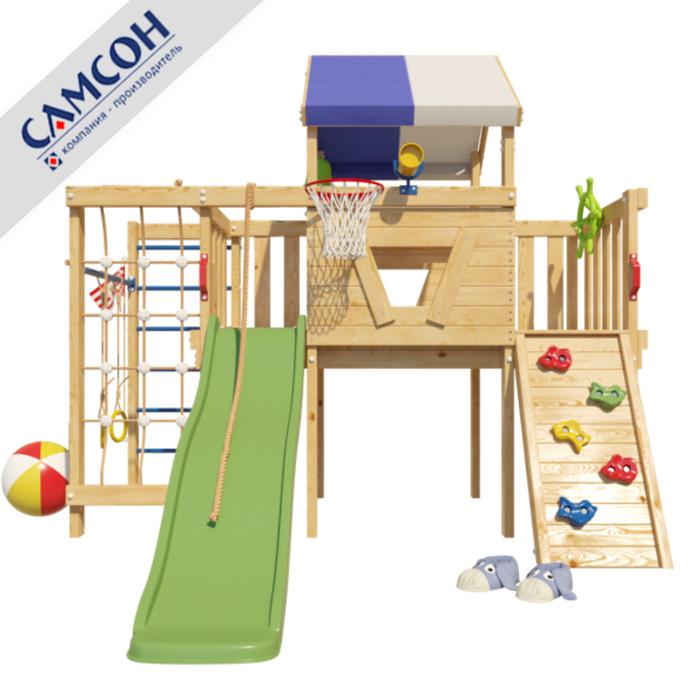 Детский игровой чердак Винни для дома и улицы