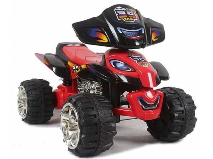 EC-W-5118 детский квадроцикл до 8 км/ч редукторы 70W